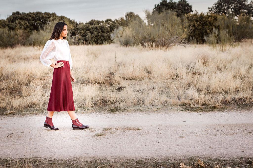 Botines de mujer Victoria de Bohemian Shoes