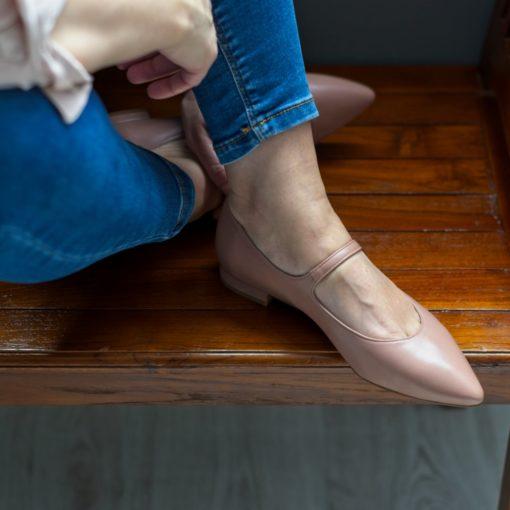Merceditas Audrey nude de Bohemian Shoes