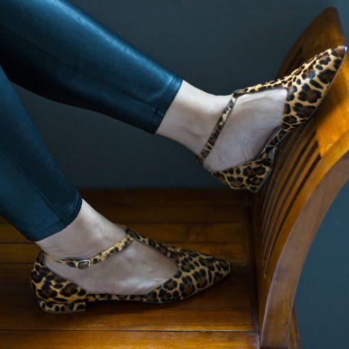 Mercedita JULIETTE - animal print Leopardo