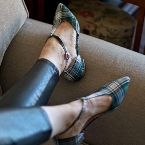 Mary Janes en tartán modelo JULIETTE - Isle of Skye de Bohemian Shoes