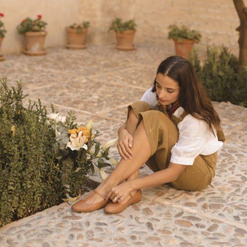 Mary Janes Odette -Cuero de Bohemian - Shoes