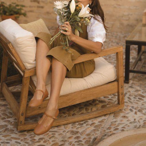 Merceditas Odette -Cuero de Bohemian - Shoes