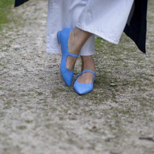 Merceditas AUDREY - Baby blue de Bohemian Shoes
