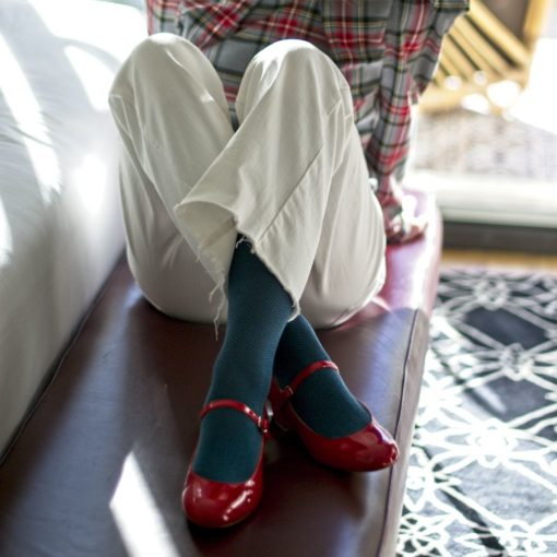 Mary Janes CHLOÉ - Charol rojo Bohemian de Bohemian Shoes
