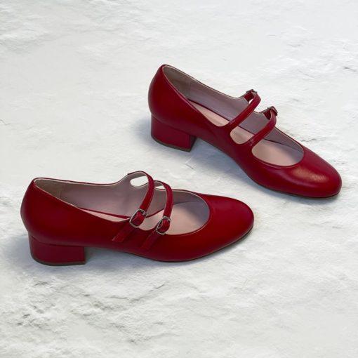 NADINE - Rojo Bohemian