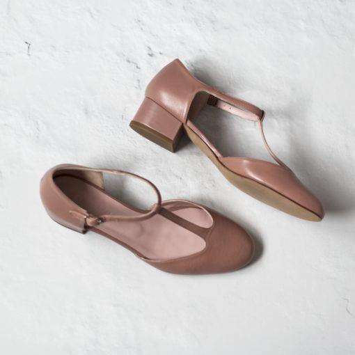 Mary Janes de tacón ARIANNE - Maquillaje en napa y cuero legítimo de Bohemian Shoes
