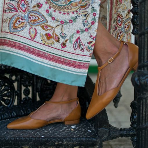 Mary Janes Juliette - Cuero de Bohemian Shoes