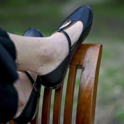 Mari Janes Odette - Noir de Bohemian Shoes
