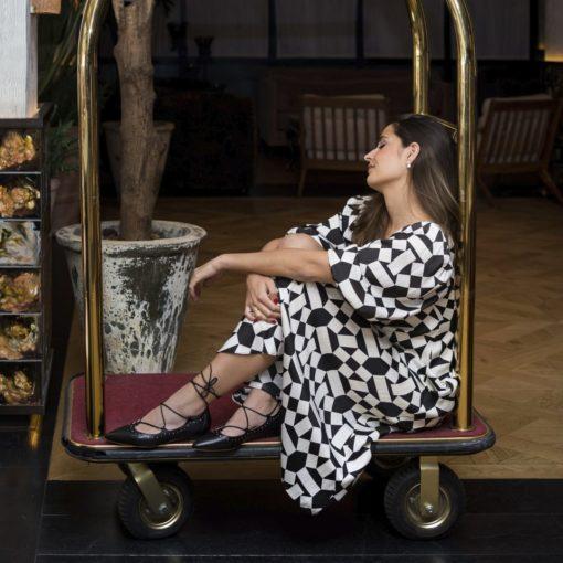 Manoletinas Anette - Noir de Bohemian Shoes