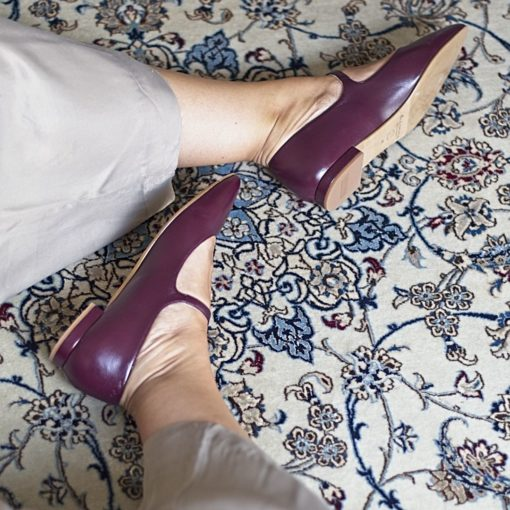 Mary Janes AUDREY - Burdeos de Bohemian Shoes