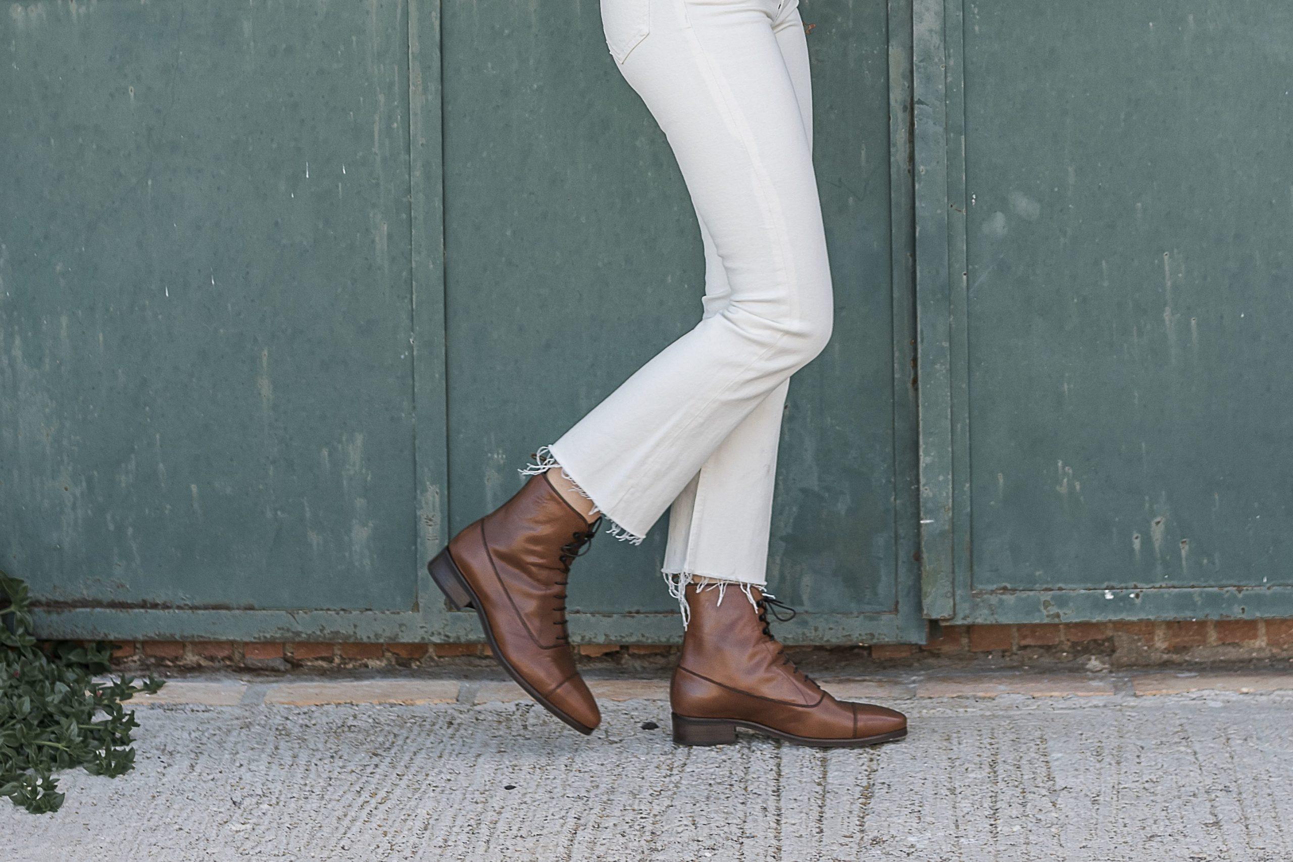 Calvary Boots en piel Boxcalf color cuero